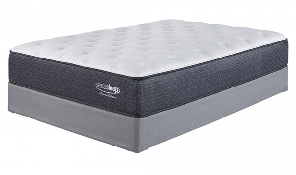 Limited Edition Plush Traditional White Fabric Queen Mattress M79831