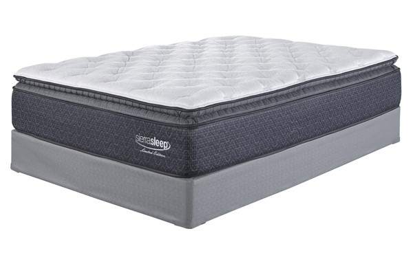 Limited Edition Pillowtop Traditional White Fabric Mattress M799-INMAT-VAR