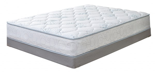 Blue Fabric Innerspring Full Mattress M80421
