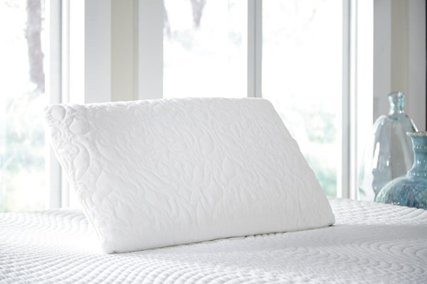Ashley Pillow Traditional Classics White King Latex Pillow (2/CS) M82503