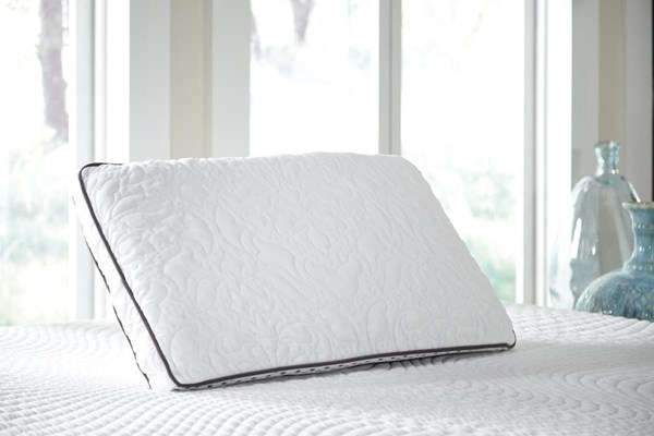 Ashley Pillow Traditional Classics White Dual Side Queen Pillow (2/CS) M82506