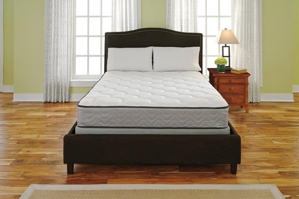 Longs Peak Firm Traditional Classics White Cal King Mattress M88151