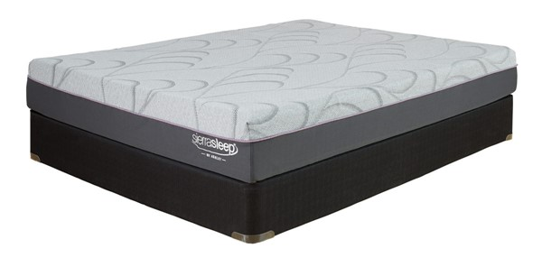 Ashley Furniture Palisades Light Gray Queen Mattress M89831