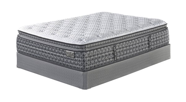 Mt Rogers Ltd Pillowtop Traditional White Fabric Queen Mattress M90531