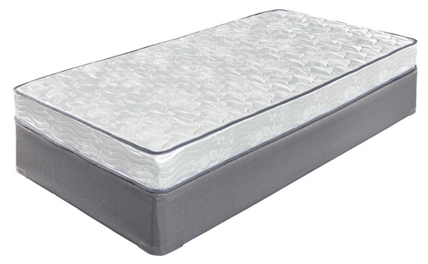6 Inch Bonell Traditional White Fabric Mattresses M9631-MATRS-VAR