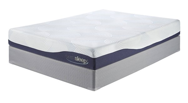 9 Inch Gel Memory Foam Traditional Classics White Full Mattress M97221
