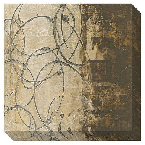 Barnet Contemporary Beige Brown Gray Wall Art The Classy