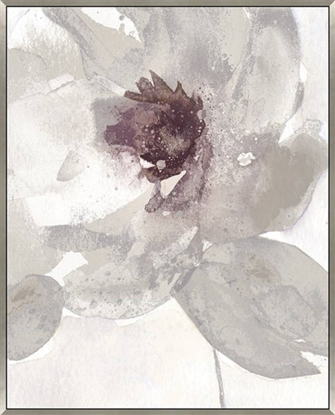 Odam Contemporary Taupe Gray Purple White Hand Textured Wall Art A8000181