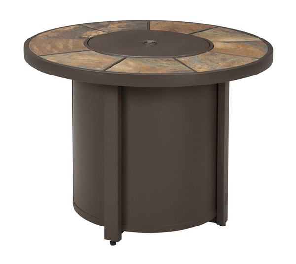 Ashley Furniture Predmore Round Fire Pit Table   The ...