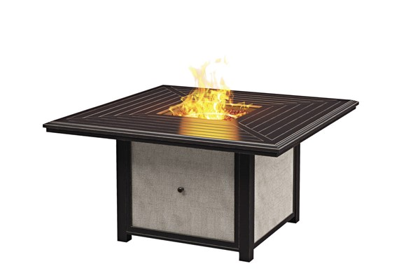 Ashley Furniture Town Court Brown Square Fire Pit Table P436-772