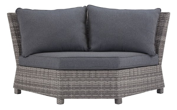 Ashley Furniture Salem Beach Gray Corner With Cushion P440-877