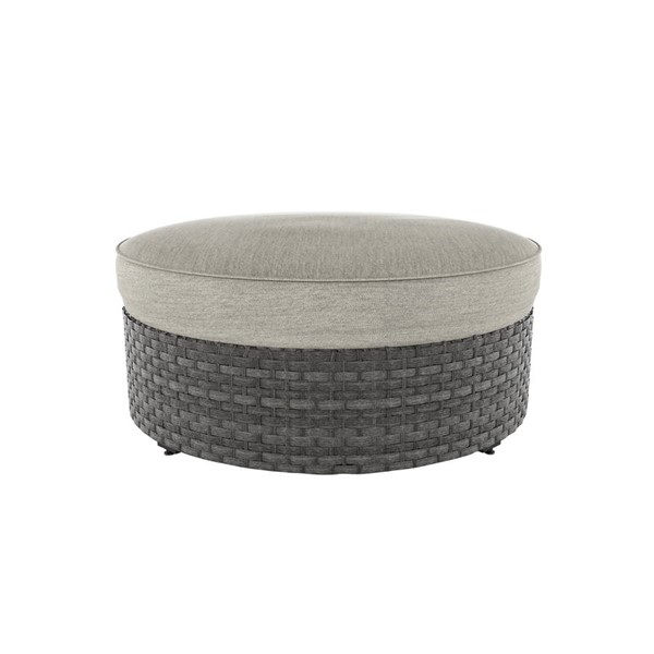 Ashley Furniture Spring Dew Round Cushion Ottoman P453-814