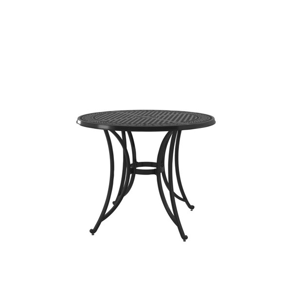 Ashley Furniture Burnella Brown Aluminum Round Bar Table P456-613