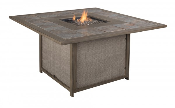 Ashley Furniture Partanna Square Fire Pit Table P556-772