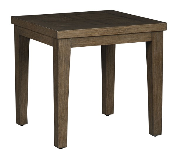 Ashley Furniture Paradise Trail Medium Brown Square End Table P750-702