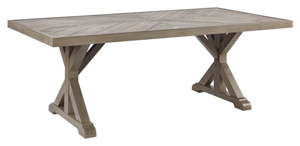 Ashley Furniture Beachcroft Beige Rectangle Dining Table P791-625