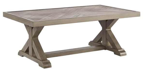 Ashley Furniture Beachcroft Beige Rectangle Cocktail Table P791-701