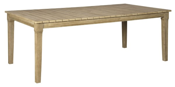 Ashley Furniture Clare View Beige Wood Dining Table P801-625