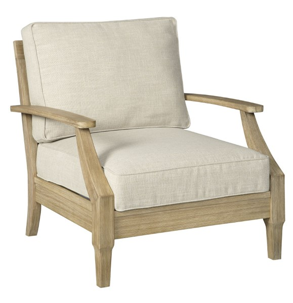 Ashley Furniture Clare View Beige Wood Lounge Chair P801-820