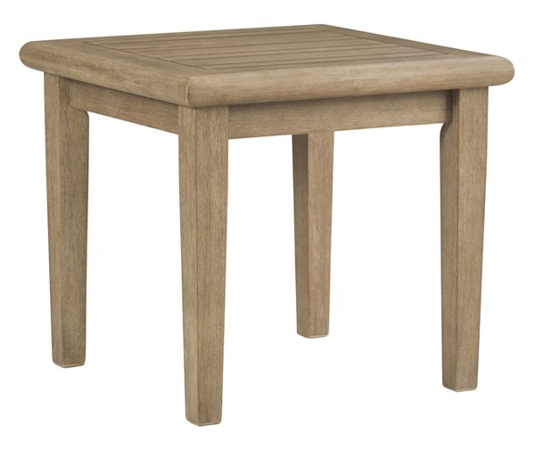 Ashley Furniture Gerianne Grayish Brown Square End Table P805-702
