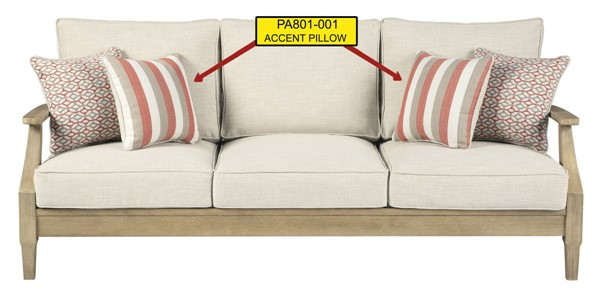 Ashley Furniture Clare View Beige Pillow PA801-001