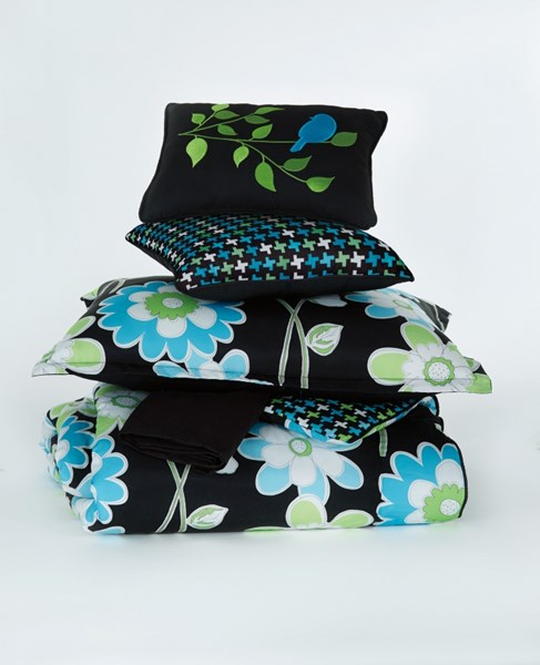Sweetie Cottage Blue Fabric Twin TOB Set Q157001T