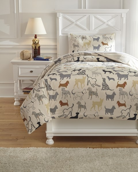 Howley Youth Animal Printed Duvet Cover Sets Q73100-DCS-VAR