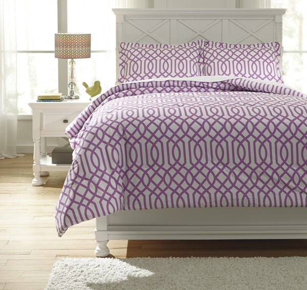 Loomis Youth Lavender Full Comforter Set Q758023F