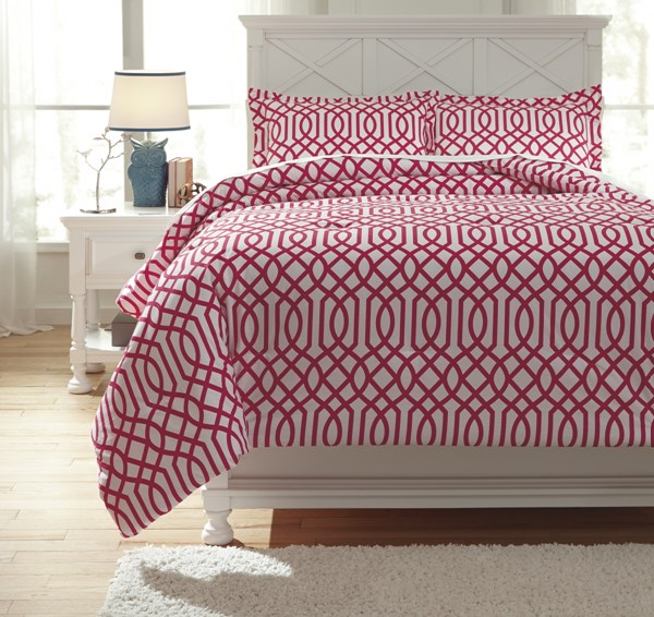 Loomis Youth Fuchsia Full Comforter Set Q758043F