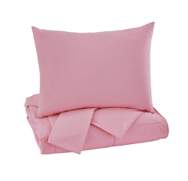 Plainfield Youth Pink Full Comforter Set Q759063F