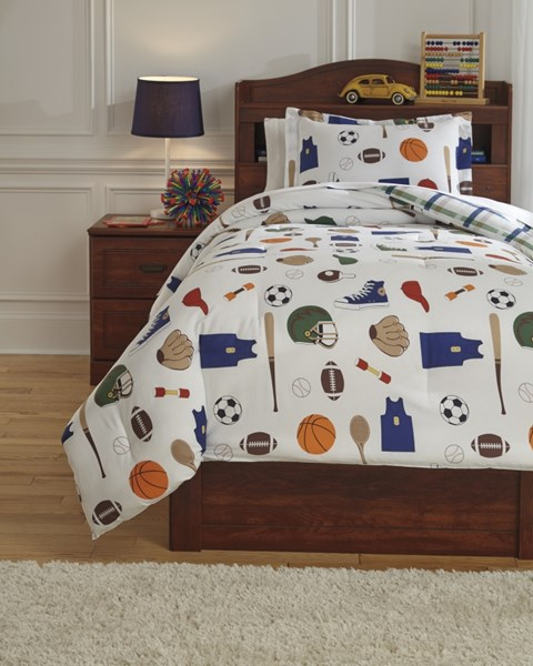 Varias Youth Fabric Sports Designed Comforter Sets Q77200-DCS-VAR