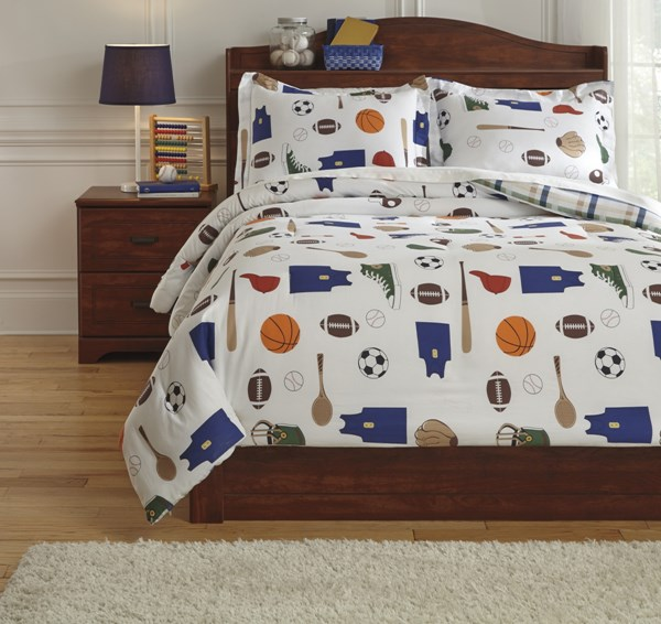 Varias Youth Fabric Sports Designed Full Comforter Set Q772003F