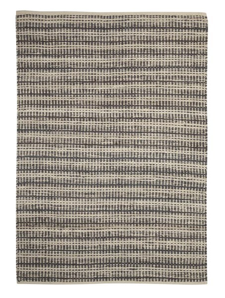Chesney Transitional Tan Gray Striped Large Rug R257001