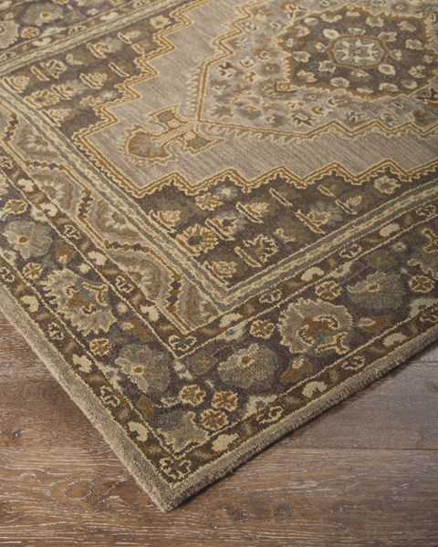 Sangerville Traditional Classics Tan Fabric Large Rug R400021