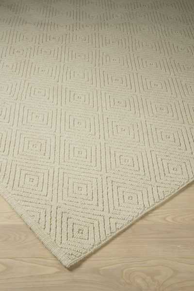 Harper Vintage Casual Ivory Fabric Rectangle  Large Rug R400051