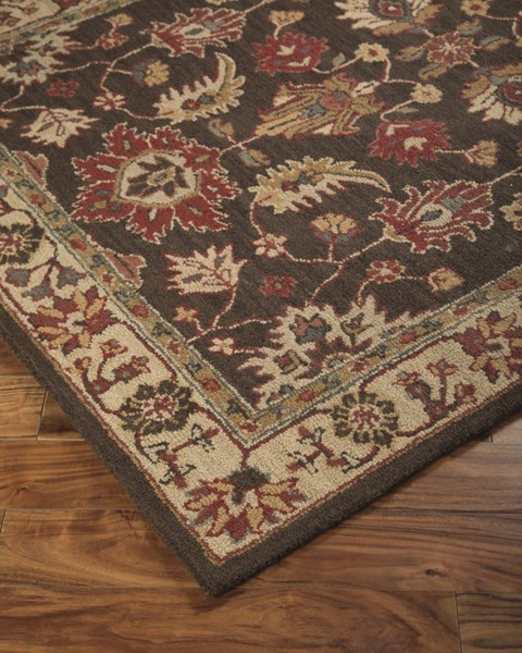 Stavens Traditional Classics Brown Fabric Hand Tufted Rugs R40010-RUG-VAR