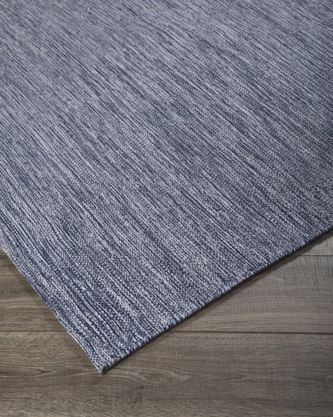 Serphina Contemporary Blue Fabric Hand Woven Medium Rug R400172