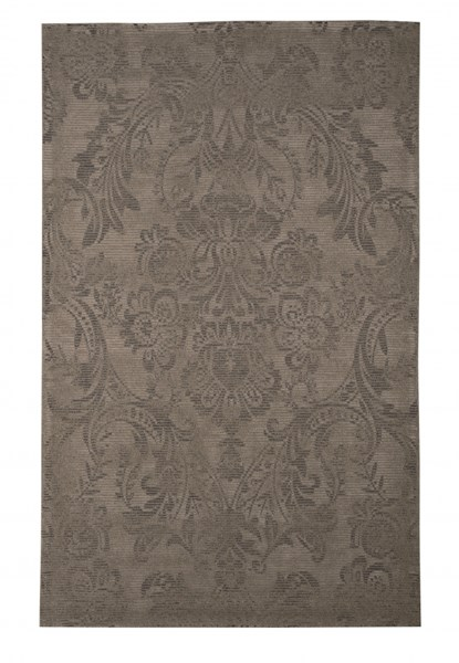Burks Contemporary Brown Medium Rug 60 x 96 R400212