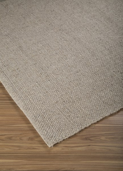 Conly Transitional Brown Fabric Handwoven Large Rug R400331