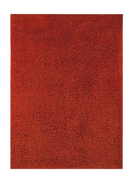 Alonso Transitional Orange Polyester Jute Medium Rug (L 84 X W 60) R400552