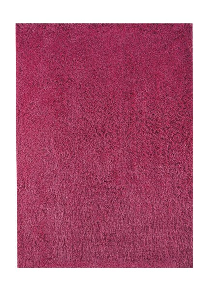 Alonso Contemporary Pink Polyester Jute Medium Rug (L 84 X W 60) R400572