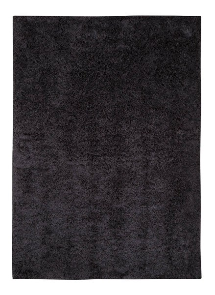Alonso Transitional Graphite Polyester Jute Medium Rug (L 84 X W 60) R400582