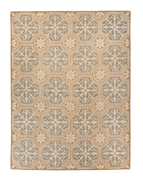 Medallion Vintage Casual Paprika Medium Rug R401022