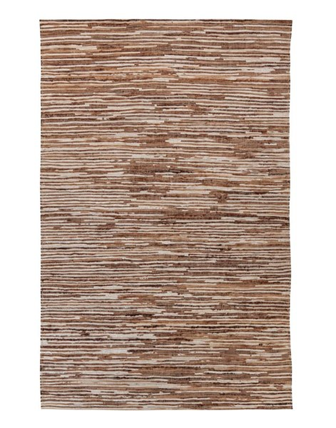 Braided Transitional Light Brown Large Rug R401081