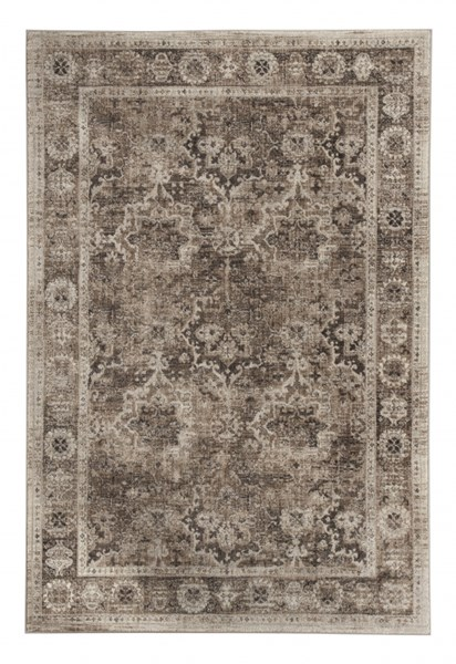 Geovanni Traditional Classics Stone Taupe Polyester Medium Rug R401142