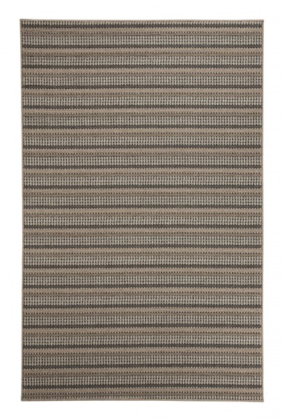 Kyley Transitional Taupe Polyester Medium Rug R401152