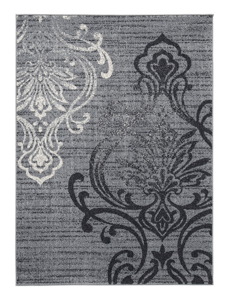 Ashley Furniture Verrill Traditional Gray Black Medium Rug R401242