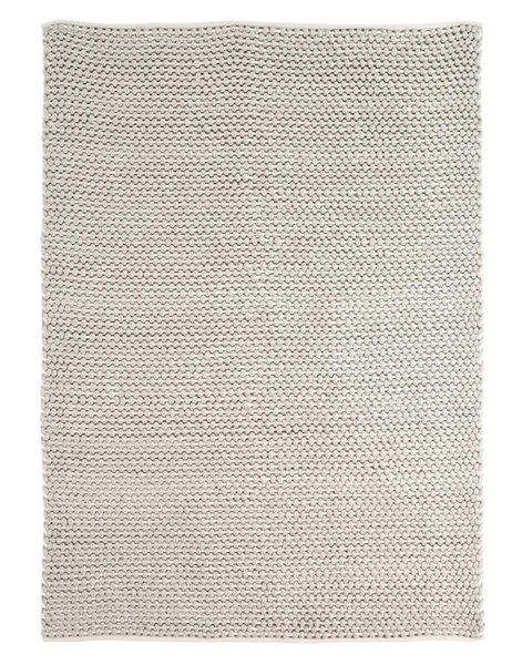 Handwoven Vintage Casual Gray Fabric Rugs R401421-VAR