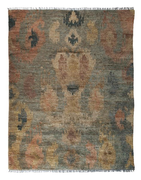 Patterned Traditional Classics Jute Medium Rug R401482