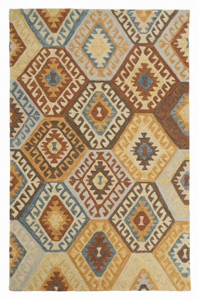Calamone Traditional Fabric Hand Tufted Rugs R40156-RUG-VAR